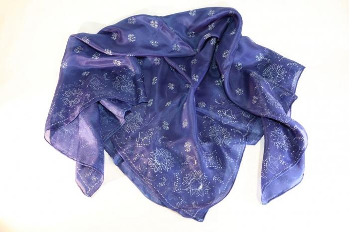 90x90cm Silk scarves